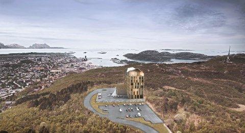 Det store flertallet i bystyret lyttet ikke til klagen på hotell og vei til Rønvikfjellet.