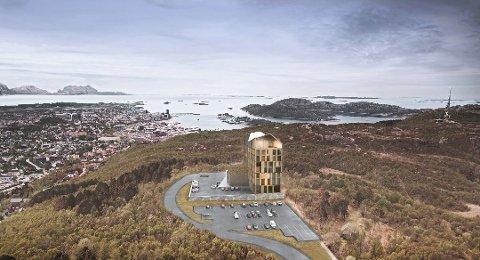 Veien til Rønvikfjellet skal utbedres for 88,5 millioner kroner.