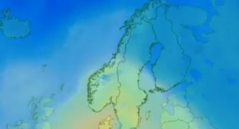 Meteorologene varsler mildvær i nord i helgen.