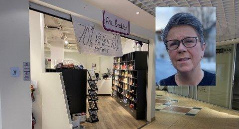 Wenche Hanssen (56) åpner dørene til sin nye garnbutikk i april.