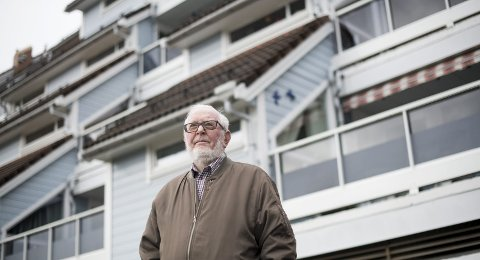 Bekymret: Knut Corneliussen reagerer på at hans svigermor (97) sendes hjem fra sykehjemmet. – Hun er helt ute av stand til å ta vare på seg selv, mener han.Foto: Skjalg Ekeland