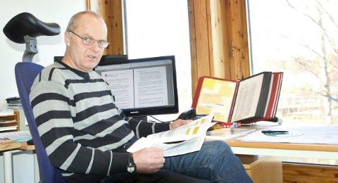 HARD LUT:  Riving og flytting er troliog det eneste som virker, sier Jan Erik Gravermoen.