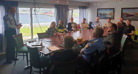 Sammen for felles sak. Politiet og Nordkyn Næringslivsforening har sammen med næringslivskontakten, Olaf Magnus Andreassen, startet arbeidet for å bekjempe arbeidslivskriminalitet i lokalsamfunnet.