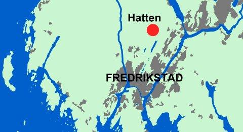 Kart: Fredriksstad Blad