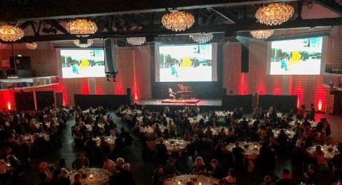 Dansk konsert: København samlet 500 internasjonale gjester da Aksel Kolstad spilte i Tivoli hotellets sal.