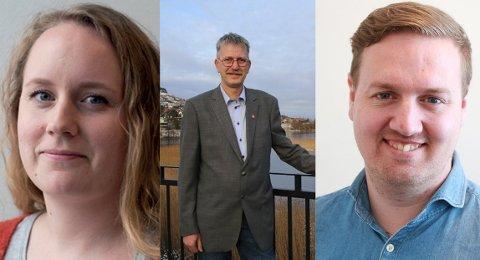 Karoline Nernæs, Trygve Ravndal og Håkon Faarlund Hetland er blant de nye representantene i kommunestyret i Gjesdal.