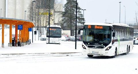 STADIG FLERE: Hedmark Trafikk hadde økning i antallet passasjerer også i fjor.
