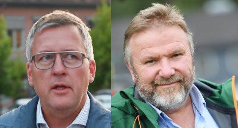 Stortingsrepresentantene Rune Støstad (Ap) og Bengt Fasteraune (Sp) sier den nye regjeringen vil sette sitt preg på statsbudsjettet.
