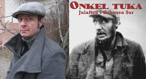 SLÅENDE LIKHET: Øystein Karlsen (til venstre!) og hans historiske tvilling, en norsk sjømann som bodde i den norske uteliggerkolonien, kalt Ørkenen Sur, i New York på 20- og 30-tallet.
