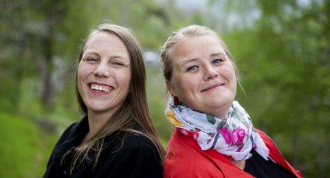Ny leiarduo i Harding Puls: Ingerid Jordal og Inger-Kristine Riber.