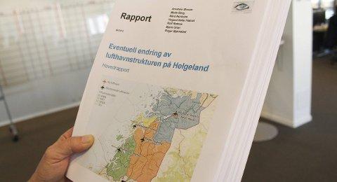 Ja og nei: Avinor bygger ikke på Hauan dersom flyplassen i Mosjøen legges ned. IHR støtter hauanprosjektet, men valgte etter innspill fra Grane kommune ved ordfører å la være å utelate Kjærstad fra sine framtidsvyer. Foto: Jon Steinar Linga