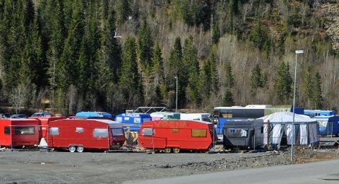 RASKT LEVERT: Det tok bare tre kvarter fra politiet fikk melding om et innbrudd i russecampen i Mosjøen til den skyldige satt i arresten.