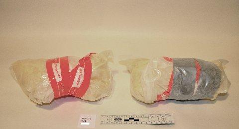 Foto fra et av amfetaminbeslagene (foto: Politiet)
