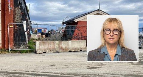 LØSNING: Kommunalsjef, med ansvar for helse, velferd og omsorg i Harstad kommune, Torill Skår forteller at det jobbes med å finne en løsning for de som vanket på kaia.