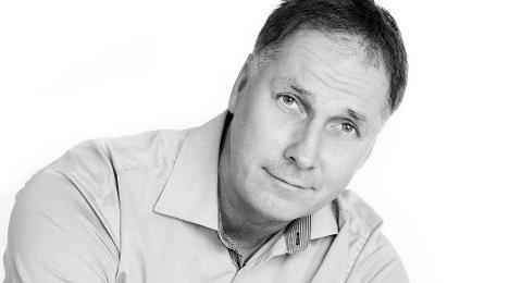 Redaktør Arne Henrik Vestreng i Indre Akershus Blad.
