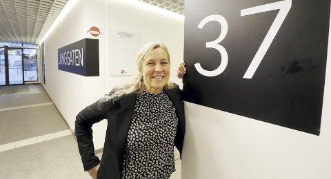 Bor i Tønsberg: Og begynner i Holmestrand 1. mai som leder av Nav. Heidi Lilleslåtten gleder seg til utfordringene ved et kontor med cirka 60 ansatte. To utfordringer blir særlig viktige: Utenforskap og ungdom og integrering av flyktninger. Foto: Pål Nordby
