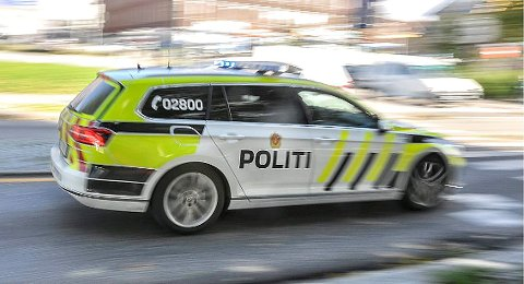 TOK FARTSSYNDEREN: Utrykningspolitiet (UP) stanset råkjøreren etter at vedkommende var målt til 140 kilometer i timen i 70-sonen på Gullhaug. (Illustrasjonsfoto)