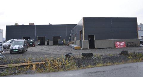 SNART KLART: Bygget til PRÅ eiendom AS på Dalane er snart klart. Men det er ennå ikke gitt tillatelse til at det kan tas i bruk.