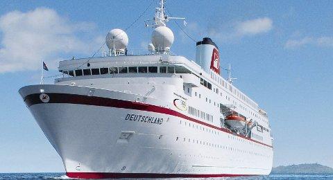 GJENSYN: Cruiseskipet «Deutschland» skal besøke Kragerø både i år og neste år.