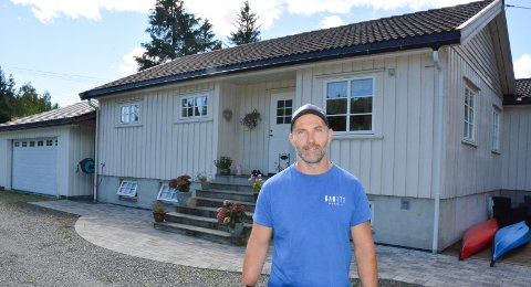 GJORT MYE: – Jeg håper å få litt igjen for alle arbeidstimene som er lagt ned på eiendommen, sier Marius Eikeland.