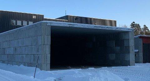 GRATIS: Strøsandlageret ligger på Stemmen industriområde.