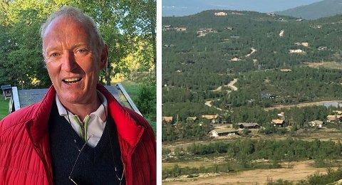 URETTFERDIG: Fred Dahl (bildet) mener det er urettferdig at andre i Lomlia hyttefelt har fått ferdigattest, men ikke han.