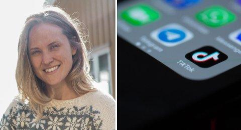 KAN SKADE: Den sosiale medie-appen Tik Tok er populær blant unge, men en del av innholdet som deles er svært skadelig. – De søker mer ukritisk etter nye erfaringer, og ikke så usannsynlig så er ønsket om likes og følgere det som står i fokus, sier psykolog Kirvil Hegna.