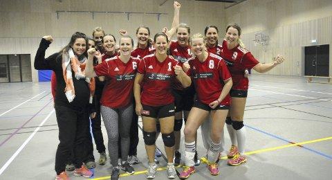 FORTSETTER I 2. DIVISJON: Liers volleyballdamer satser i stedet på å nå langt i norgescupen.