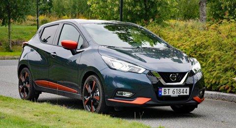 Nissans småbil Micra tar fjerdeplassen i denne lille oversikten.