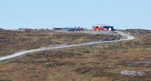 NORDLYS VINDMØLLEPARK: Tromsø kommune har anmeldt et mulig oljeutslipp i området.