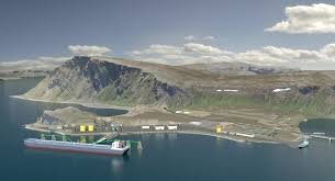 VEIDNES: Den planlagte terminalen på Veidnes blir ikke bygget.