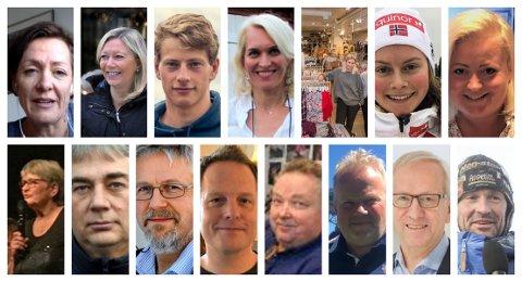 MANGE FLOTTE KANDIDATER: Et lite knippe av et stort antall kandidater OAs lesere har foreslått til årets OA-priser som deles ut 30 januar under Gjøvik Galla.