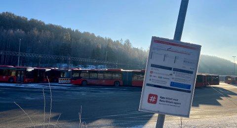 ELBUSSER: Norgesbuss skal bygge om Rosenholm til en moderne ladepark for sine nye  leddbusser som blant annet skal rulle rundt i deler av Nordre Follo og Oslo sør.