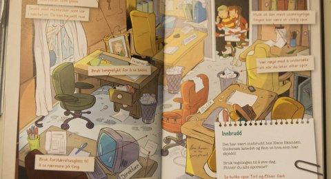 Tips: Boken gir mange tips til unge som vil utforske litt mer enn bare å lese detektivhistorier.