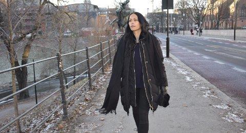 AKTIV: Christabelle henter inspirasjon fra hele verden. Her er hun i Oslo.