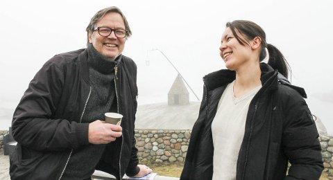 Jobber for gjester: Arne Johan Furseth og Linda Yuen vil begge trekke flere til nasjonalparken, gjerne til en festival. Foto: Nina Blix