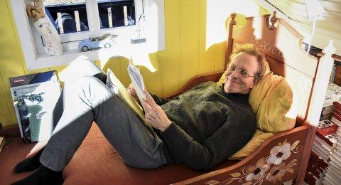 DRØMMELIV: Niels Chr. Geelmuyden har bodd på Tjøme i 20 år og stortrives med det. Foto: Ralf Haga