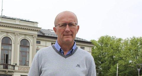 Høyt søkertall: NAV-sjef i Porsgrunn, Grunde Grimsrud, sier 122 er et høyt søkertall.