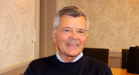 I KOMMUNESTYRET: Allan Simonsen i Langesund meldte seg inn i Fremskrittspartiet for et år siden. Nå er han valgt inn som fast representant i Bamble kommunestyre for første gang.