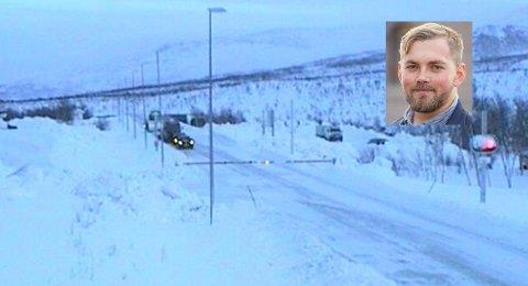 Norge ble delt i to 141 ganger over Saltfjellet sist vinter. Fylkesråd for samferdsel, Bent-Joachim Bentzen, reagerer sterkt på at veiprosjekt over flere fjelloverganger i Nord-Norge er nedprioritert.