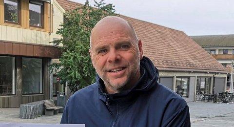 RIF-TRENER: John Arne Holmlund skal trene Ringsaker ut 2021-sesongen.