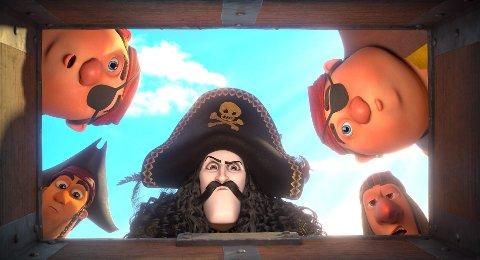 TOPP-ANIMATØRER: Qvisten Animasjon har hentet inn noen av de beste til å anmere den nye Kaptein Sabeltann-filmen.