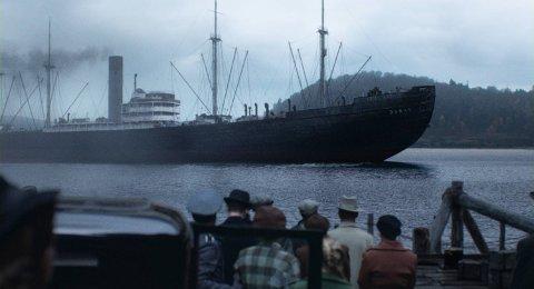 OSLO HAVN: Til sammen  773 jøder ble deportert fra Norge. Kun 38 overlevde.  Scene fra filmen (Foto: Karl Erik Brøndbo/Fantefilm)