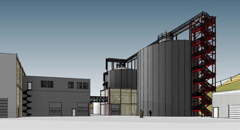 STRIDENS KJERNE: Anbudskonkurransen om dette planlagte biogassanlegget har ført til klager fra flere av tilbyderne.