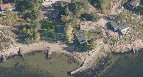 ULOVLIG: Asker kommune sendte pålegg om retting av brygga som en hytteeier i Holmsbu hadde utbedret. - Grunneier trodde ikke tiltaket var søknadspliktig, sier ansvarlig søker.