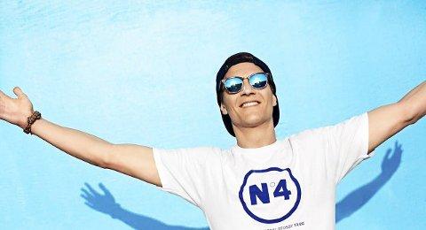 Fra Los Angeles til Sandefjord: Matoma, 24-åringen fra Flisa, har fått en brakstart på musikkarrieren og bor nå i Los Angeles i USA. Singelen hans «Old Thing Back» er spilt av over 113 millioner ganger på Spotify. 6. august kommer han til Fjordfesten i Badeparken. Foto: Atomic Soul / Handout