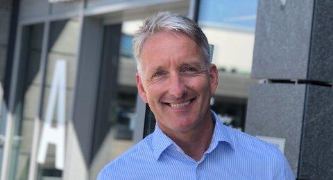 Oddmund Kroken, administrerende direktør i Østfold Energi.