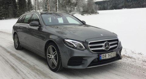Eksteriør-designet på Mercedes E-klasse har gått fra å være noe traust til å bli langt mer spennende og sportslig.