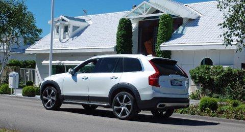 Den store SUV-en XC90 var første bil ut fra nye Volvo. Den er en stor suksess.