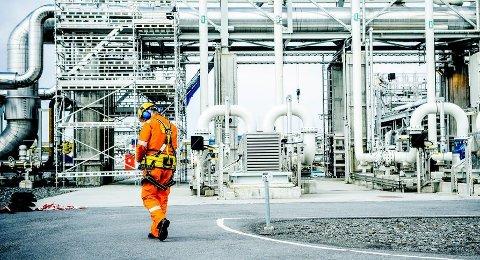 Ein gjennomsnittleg oljearbeidar kan nok sjå langt etter lønsnivået til sjefen. Her frå Ormen Lange-feltet på Aukra.